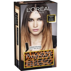 L'OREAL Preference OMBRES Краска для волос тон 01 l oreal preference краска для волос тон 4 01 париж глубокий каштан