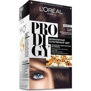 L'OREAL Prodigy Краска для волос тон 3.0 темный шоколад краска mastergood эластичная резиновая темный шоколад 2 4кг