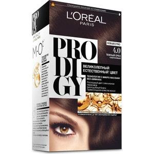 L'OREAL Prodigy Краска для волос тон 4.0 темный орех l oreal prodigy краска для волос тон 3 0 темный шоколад