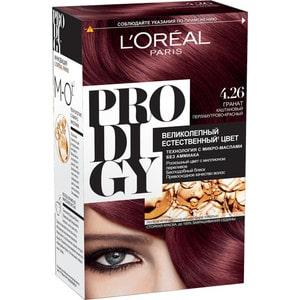 L'OREAL Prodigy Краска для волос тон 4.26 Гранат кофемашина капсульная delonghi nespresso en 560 w