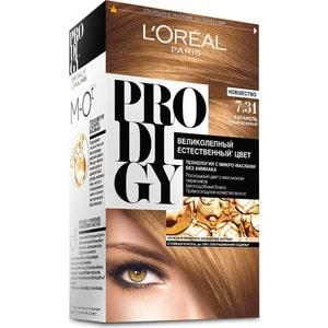 L'OREAL Prodigy Краска для волос тон 7.31 карамель l oreal prodigy краска для волос тон 8 0 белый песок