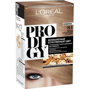 L'OREAL Prodigy Краска для волос тон 8.1 кварц l oreal prodigy краска для волос тон 3 0 темный шоколад