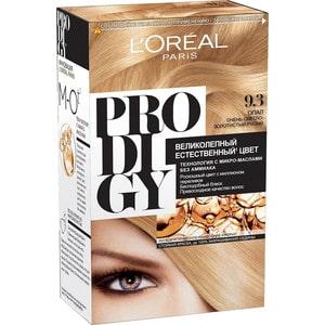 L'OREAL Prodigy Краска для волос тон 9.30 опал l oreal prodigy краска для волос тон 3 0 темный шоколад