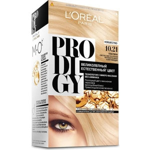 L'OREAL Prodigy Краска для волос тон 10.21 платина new f189010 first locked printhead dx7 solvent based uv print head for epson stylus pro b300 b310 b500 b510 b308 b508 b318 b518