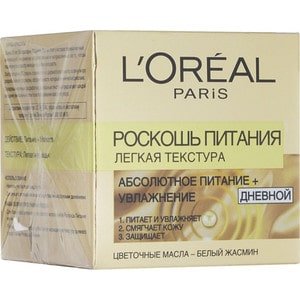 L'OREAL Dermo Expertise Экстраординарное масло легкая текстура Роскошь питания 50 мл