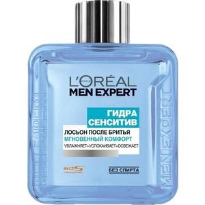 L'OREAL Men Expert Лосьон после бритья Мгновенный комфорт для чувствительной кожи 100мл l oreal men expert лосьон после бритья гидра энергетик антибактериальный эффект 100мл
