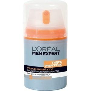 L'OREAL Men Expert Уход для лица увлажняющий Гидра энергетик против пяти признаков усталости кожи 50мл от ТЕХПОРТ