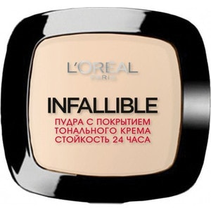 L'OREAL PERFECTION Infaillible Пудра для лица тон 225 Бежевый l oreal perfection infaillible карандаш для глаз тон 8 дело в хаки