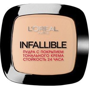 L'OREAL PERFECTION Infaillible Пудра для лица тон 245 Теплый песочный пудра для лица тон 14 yz иллозур для лица пудры