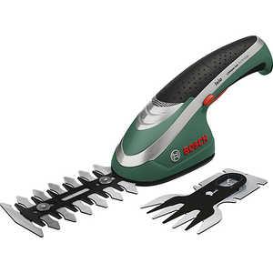 Аккумуляторные ножницы Bosch Isio + кусторез (0600833027)