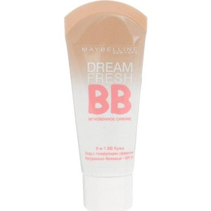 MAYBELLINE Тональный крем ВВ Dream fresh Натурально-бежевый dream like 18 20 22 24