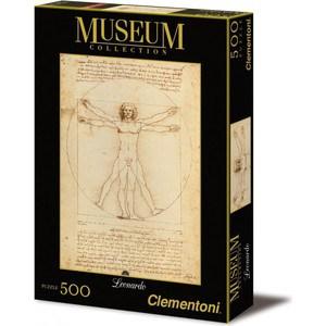 Пазл Clementoni Музей. Витрувианский человек 500 (35001)