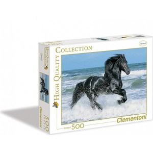 Пазл Clementoni Вороной конь в море 500 (30175 )