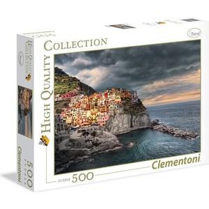 Пазл Clementoni HQ Манарола Италия. Город на скале 500 (35021)