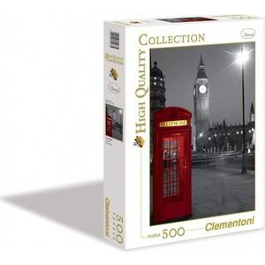 Пазл Clementoni HQ Лондон, Красная телефонная будка 500 (30263 )