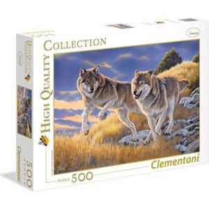 Пазл Clementoni HQ Волки 500