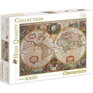 Пазл Clementoni HQ Древняя карта мира 1000 (31229 )