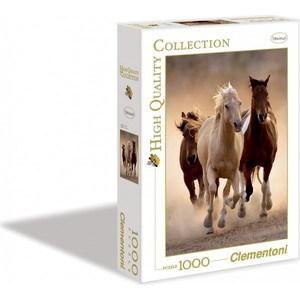 Пазл Clementoni HQ Бегущие кони 1000 (39168)