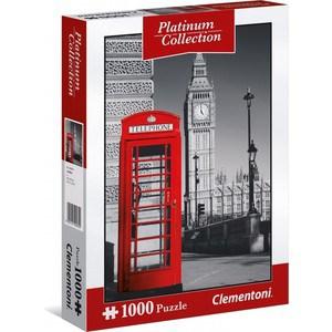 Пазл Clementoni Платиновая коллекция. Лондон 1000 (39397 ) 1000 дет лондон