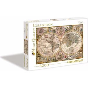 Пазл Clementoni HQ Древняя карта мира 3000 (33531 ) clementoni пазл старинная карта мира 2000 эл