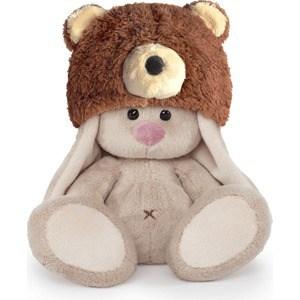 Мягкая игрушка Budi Basa Зайка Ми в шапке медвежонка (малыш) (SidX-180 )