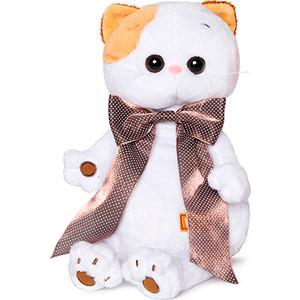 Мягкая игрушка Budi Basa Ли-Ли с атласным коричневым бантом 24 (LK24-003 ) мягкая игрушка budi basa ли ли балерина с лебедем 24 см lk24 006