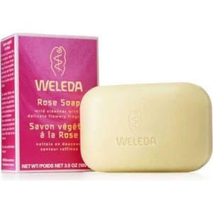 Weleda Розовое растительное мыло 100 г