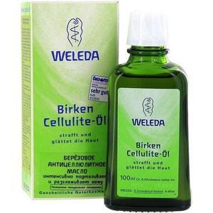 Weleda Березовое антицеллюлитное масло 100 мл серьги коюз топаз серьги т141025881