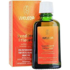Weleda Питательное облепиховое масло 100 мл weleda weleda деликатное питательное масло для лица 50 мл