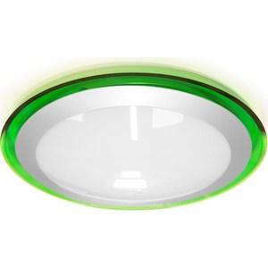 Потолочный светодиодный светильник Estares ALR-16 AC170-265V 16W d330*H70 мм Зеленый / Холодный белый потолочный светодиодный светильник estares alr 25 ac170 265v 25w d430 h90 мм прозрачный теплый белый