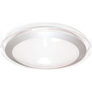 Потолочный светодиодный светильник Estares ALR-25 AC170-265V 25W d430*H90 мм Прозрачный / Холодный белый потолочный светодиодный светильник estares alr 25 ac170 265v 25w d430 h90 мм прозрачный теплый белый