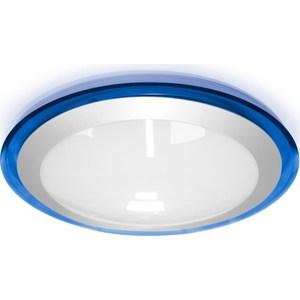 Потолочный светодиодный светильник Estares ALR-25 AC170-265V 25W d430*H90 мм Синий / Холодный белый светильник estares dls 13 ac170 265v 13w cold white