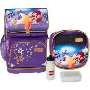 Рюкзак с сумкой для обуви Lego Friends Popstar 23 л (20016-1705/16025)