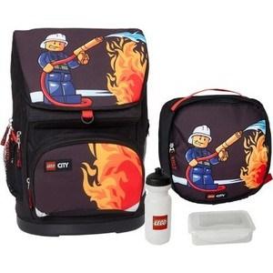 Рюкзак с сумкой для обуви Lego City Fire 30 л (16041)