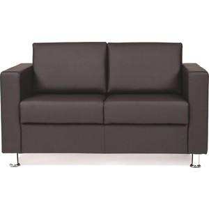 Диван Chairman двухместный Симпл черный диван barcelona двухместный чёрная кожа класса премиум