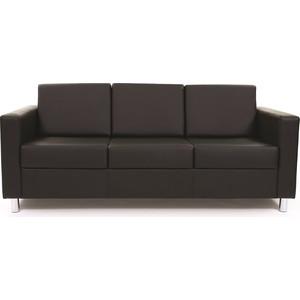 Диван Chairman трехместный Симпл черный диван трехместный арман mebelvia