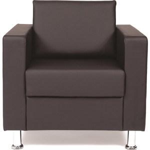 Кресло для отдыха Chairman Симпл черное офисное кресло chairman 403 кожа pu черное