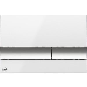Клавиша смыва AlcaPlast белая (M1720-1) клавиша смыва alcaplast turn