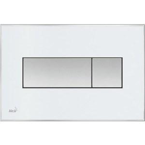 Клавиша смыва AlcaPlast с вкладышем, доска: белая-матовая, (M1370) система акустическая edifier m1370