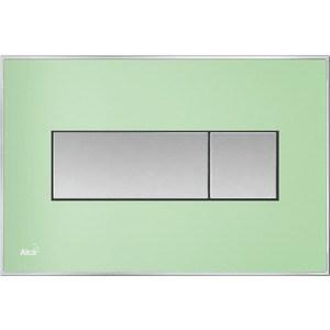 Клавиша смыва AlcaPlast с вкладышем, доска: зеленая-матовая (M1372) revell 32140 матовая черно зеленая