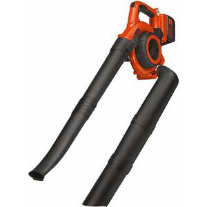 Садовый пылесос-воздуходувка Black&Decker GWC3600L20 садовый пылесос воздуходувка expert blower 26 vac 110198