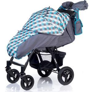 Kоляска прогулочная BabyHit Travel Air Grey-Blue Серый с голубым прогулочная коляска cool baby kdd 6699gb t fuchsia light grey