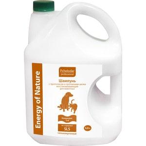 Шампунь Pchelodar Professional Energy of Natural восстанавливающий с прополисом и протеинами шелка для животных 5л