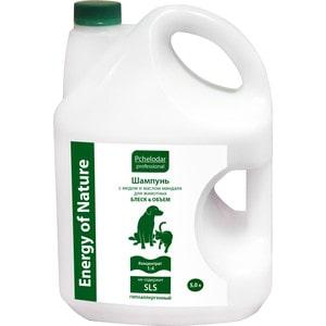 Шампунь Pchelodar Professional Energy of Natural Блеск & Объем с медом и маслом миндаля для животных 5л