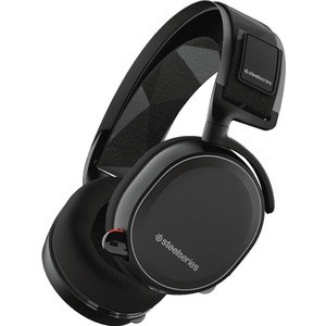 Игровые наушники SteelSeries Arctis 7 black (61463) наушники с микрофоном steelseries arctis pro gamedac мониторы черный [61453]