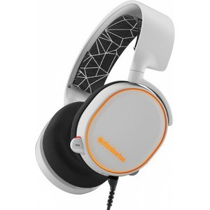 Игровые наушники SteelSeries Arctis 5 white (61444) steelseries arctis 5 white