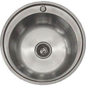 Кухонная мойка Pegas 51 0,6 шлифованный глянцевый (510W ст)