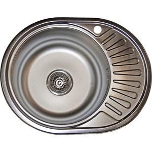 Кухонная мойка Pegas 57х45 0,6 правая, матовая (5745W R мт) угловая шлифмашина pegas tp 222