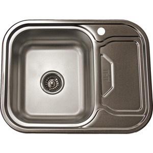 Кухонная мойка Pegas 63х49 0,6 правая, матовая (6349W R мт)