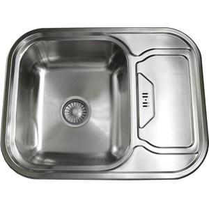 Кухонная мойка Pegas 63х49 0,6 универсальная, шлифованный глянцевый (6349W U ст)